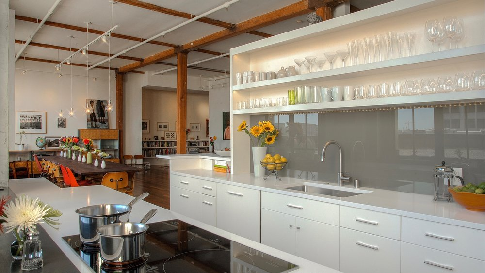 Clock Tower Lofts Kitchen