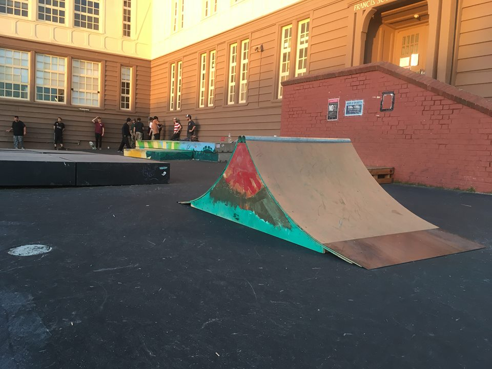 Community Build at Playland Skate park in San Francisco, Ca. Watch a video of this event  here !