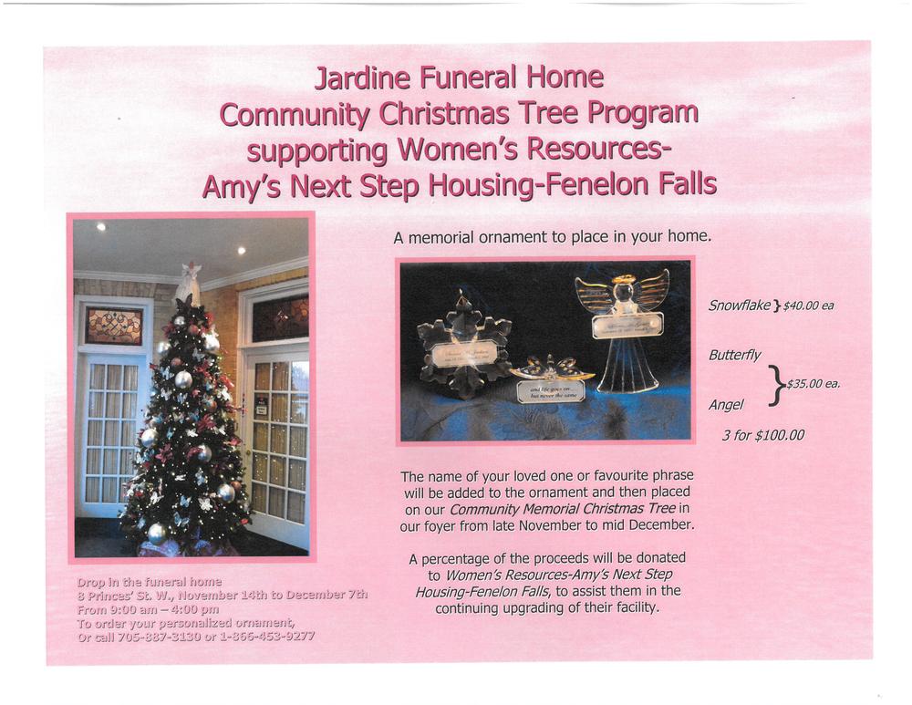 Community Memorial Christmas Tree Program poster.png