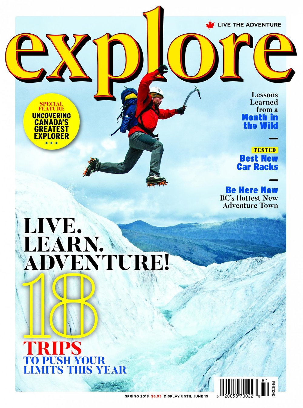EXPLORE Magazine - $12 annually - Canada's number one-selling outdoor adventure magazine. Released quarterly, its focus is self-propelled outdoor adventure, primarily in Canada. www.explore-mag.comUse the button below to join or renew your Snowshoe Canada membership and claim this amazing offer.