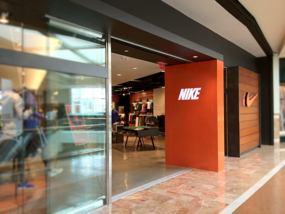 Nike Retail Store, South Coast Plaza, Costa Mesa, California.