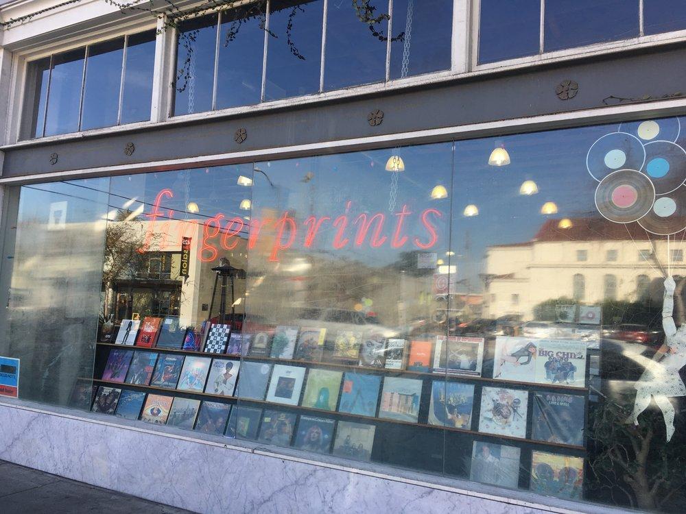 Fingerprints store front.
