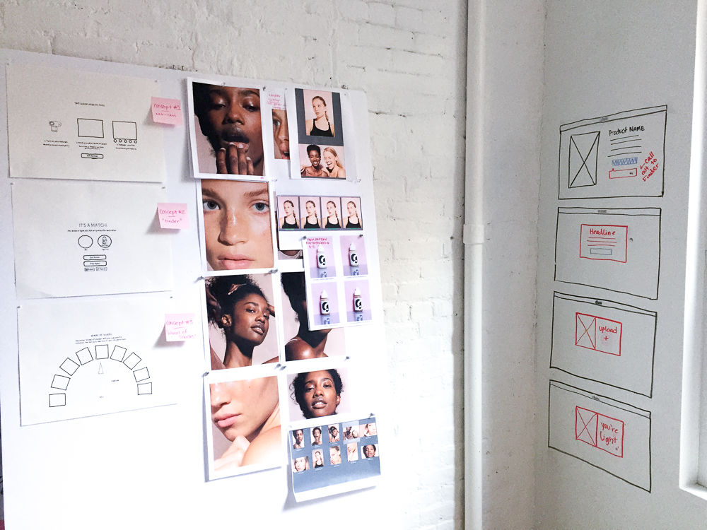 The process behind Glossier's new Shade Finder.