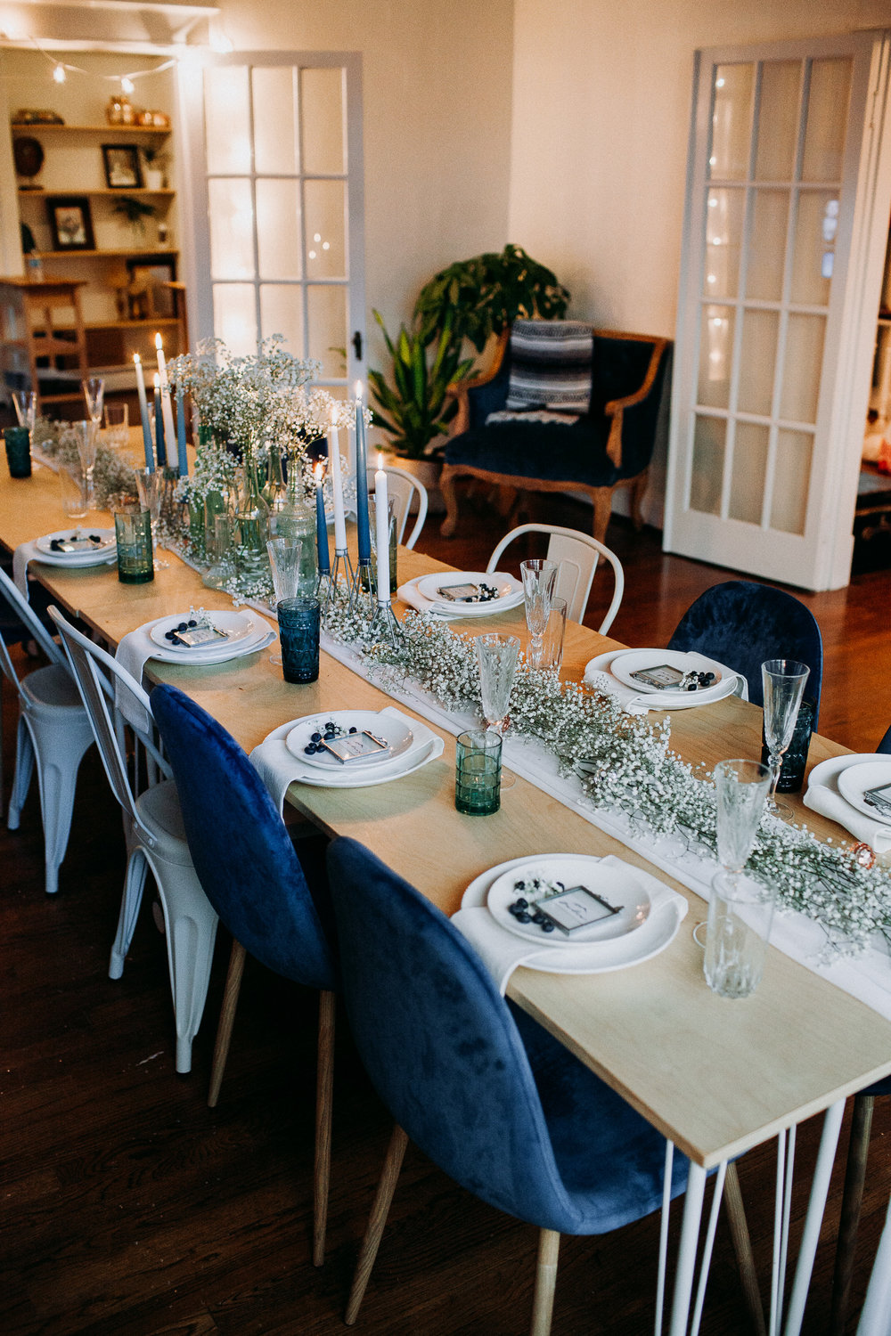 Family Holiday Dinner Soiree styled by The Social Collective