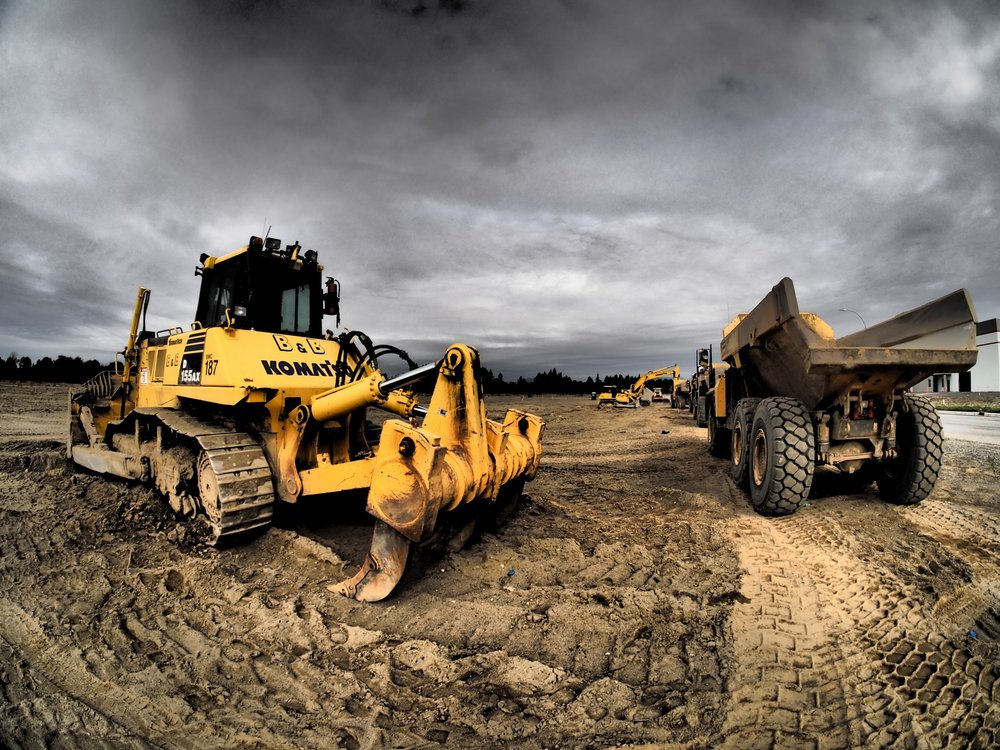 Excavation Contractor Surrey Dump Truck & Komatsu - B&B Contracting - Heavy Equipment.jpg