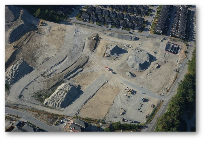 B&B Contracting - Aerial Site Prep Construction - Excavation Contractors Surrey.jpg