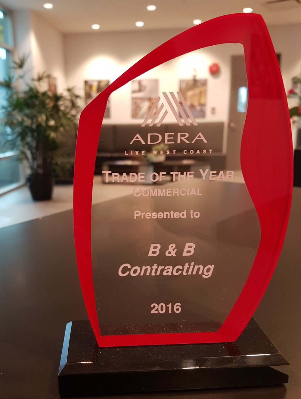 Adera Live West Coast  - B&B Contracting Award.jpg