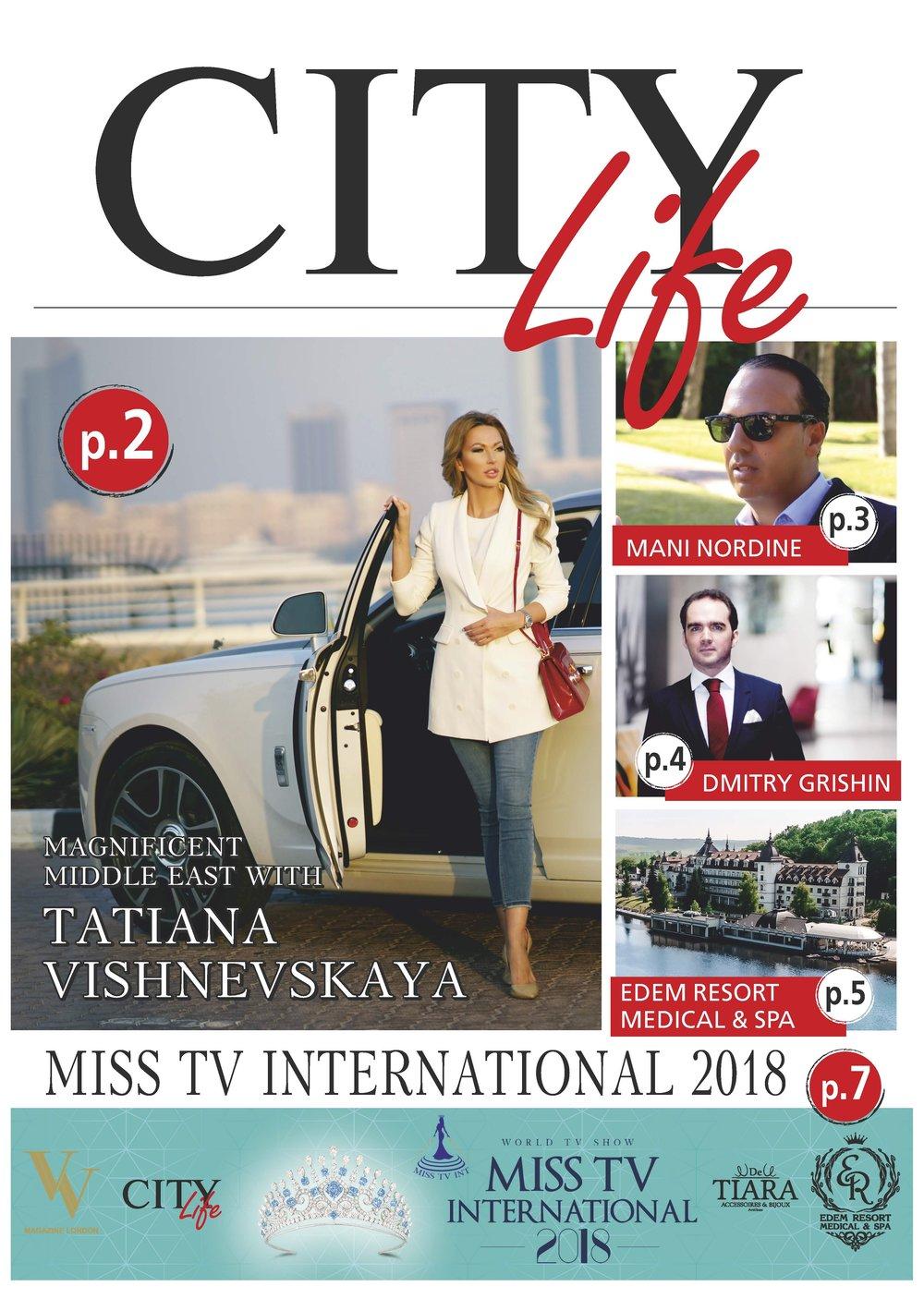 """Журнал """"City Life"""", Монако."""