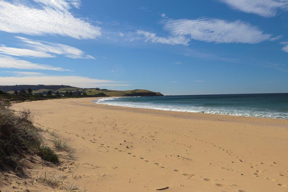 Werri Beach looking north