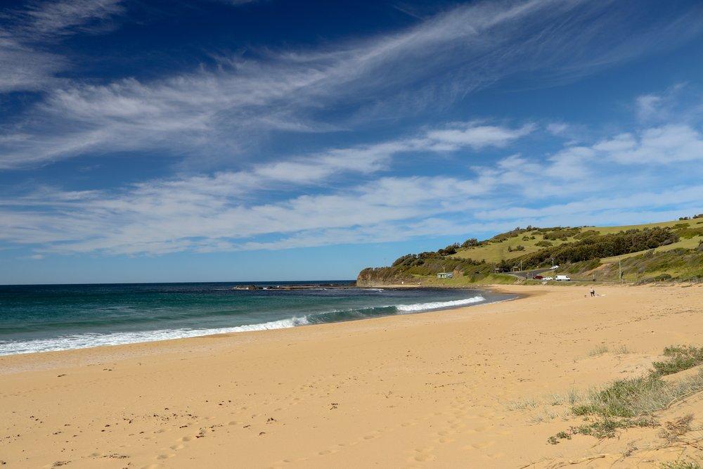 Werri Beach looking south