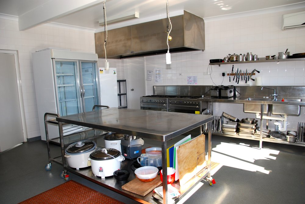 Chittick Lodge kitchen