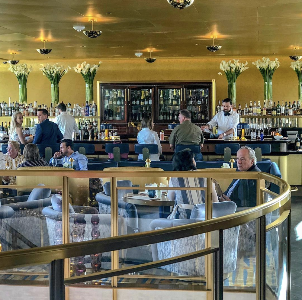 Bullion - Nothing says elevated quite like a gold-plated bar. And once you've made your way inside this contemporary French brasserie, you'll definitely want to snap a quick selfie in front of all of the opulence.