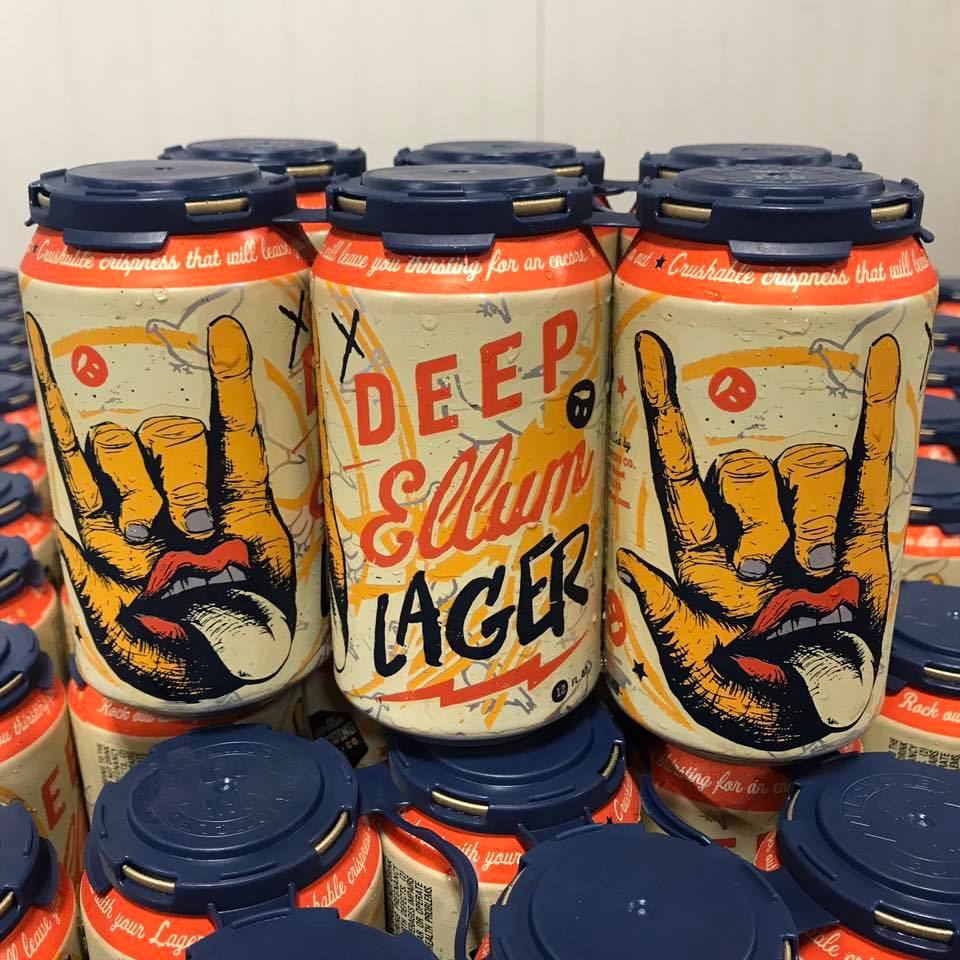 Deep Ellum Lager at DEBC - You didn't think we'd leave out Deep Ellum Brewing Company, did you? Bring a guaranteed crowd-pleaser when you pick up Deep Ellum Lager, a throwback American lager with the perfect blend of malt and spices. The can screams with off-the-wall imagery but inside, this drink caters to a naturalistic taste with its earthy and floral notes and the crispness of a lager making it a DFW classic.