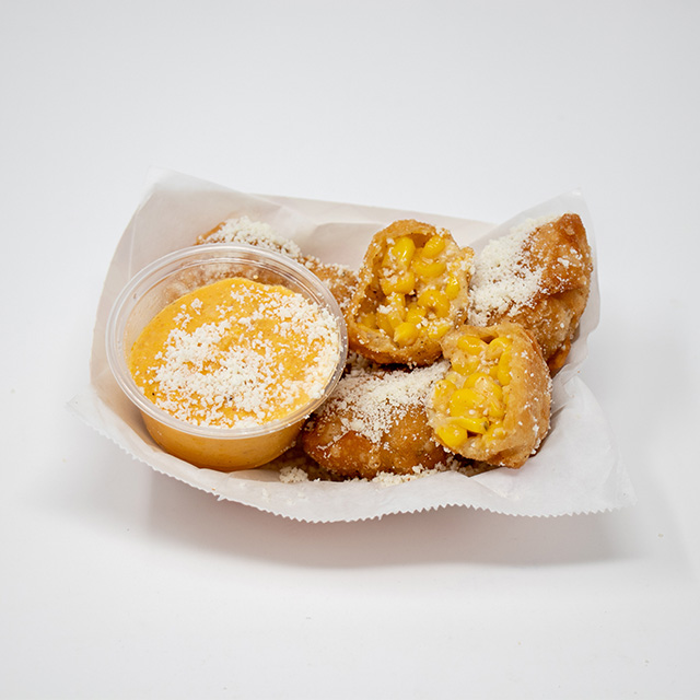 Fried Cup of Corn Elotes