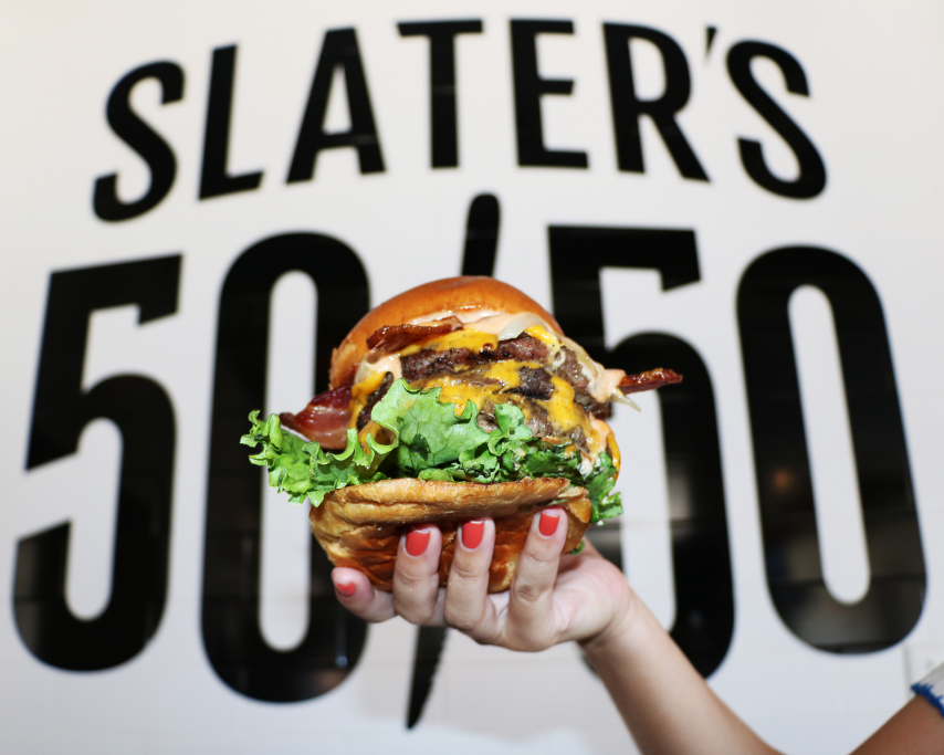 Slater's 50/50 - What: This California burger chain known for its 50/50 bacon and beef burgers is opening a second location, joining the first location on Greenville Avenue. Diners can expect West Coast-style burger offerings and an extensive list of regional craft beers.Where: 11661 Preston RoadWhen: Early October