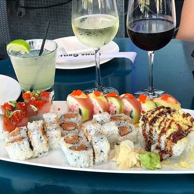 Kona Grill | 8687 N Central Expressway - Reward yourself for braving the holiday shopping crowd at NorthPark Center with a few discounted drinks and bites.When: Sunday from 3 PM to 10 PM; Monday through Saturday from 9 PM to closeBargains: $7 mules; $7.75 Tito's martinis; $6.25 Maker's Mark; $7.75 sake bombers; $6.75 Gekkeikan Draft Nama Sake; $3.75 Bud Light drafts; $4.2 Sam Adams Selection; $2 Off wines by the glass; 50% off rolls, tacos, and flatbreads; $6 dips, sliders, wraps, and potstickers.