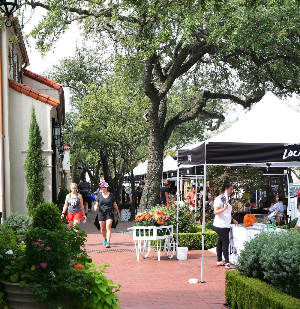 HP Village Local Artisans Market - Saturday, November 17 | Highland Park Village
