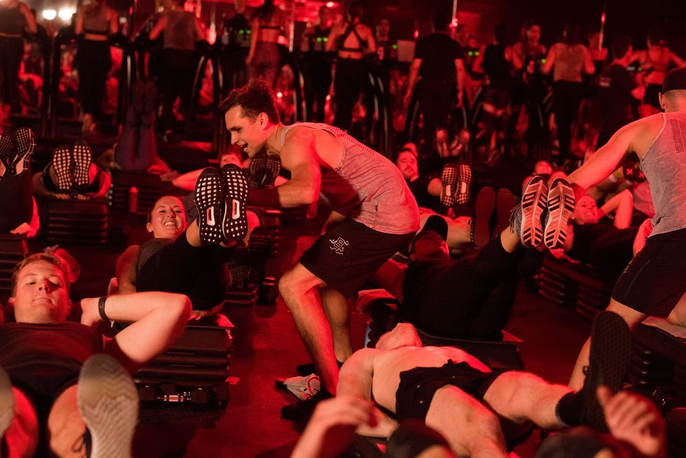 "Barry's Bootcamp - There are workouts and then there's Barry's Boot Camp. The Red Room will push you to your limits as you spend 50 minutes alternating between hardcore runs and punishing floor routines with hardly a second to catch your breath. With the opportunity to burn up to 1,000 calories in one session, Barry's will take you back to your glory days of pre-season workouts when you could ably describe yourself as an ""athlete."" It's not easy, but it'll give you bragging rights over your friends when you hit the eggnog hard."