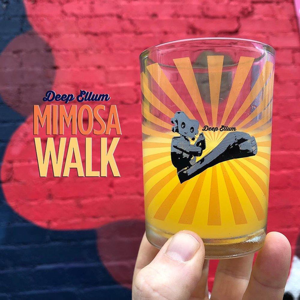 Deep Ellum Mimosa Walk - Saturday, November 24 | Deep Ellum
