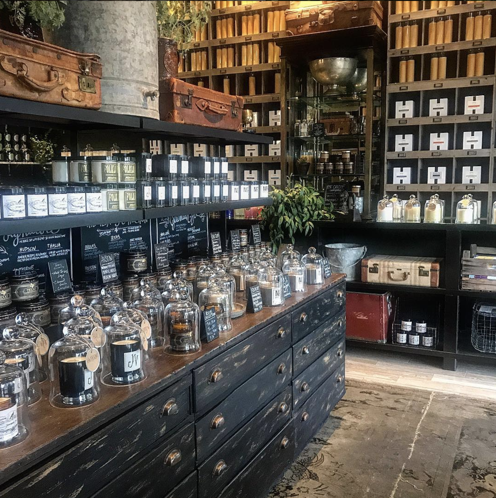 Society | 403 N. Bishop Ave. - There's at least one candle for everyone at this Bishop Arts fragrance shop. Give the friendly staff a quick rundown of your favorite fragrances and voila: your dream candle appears.