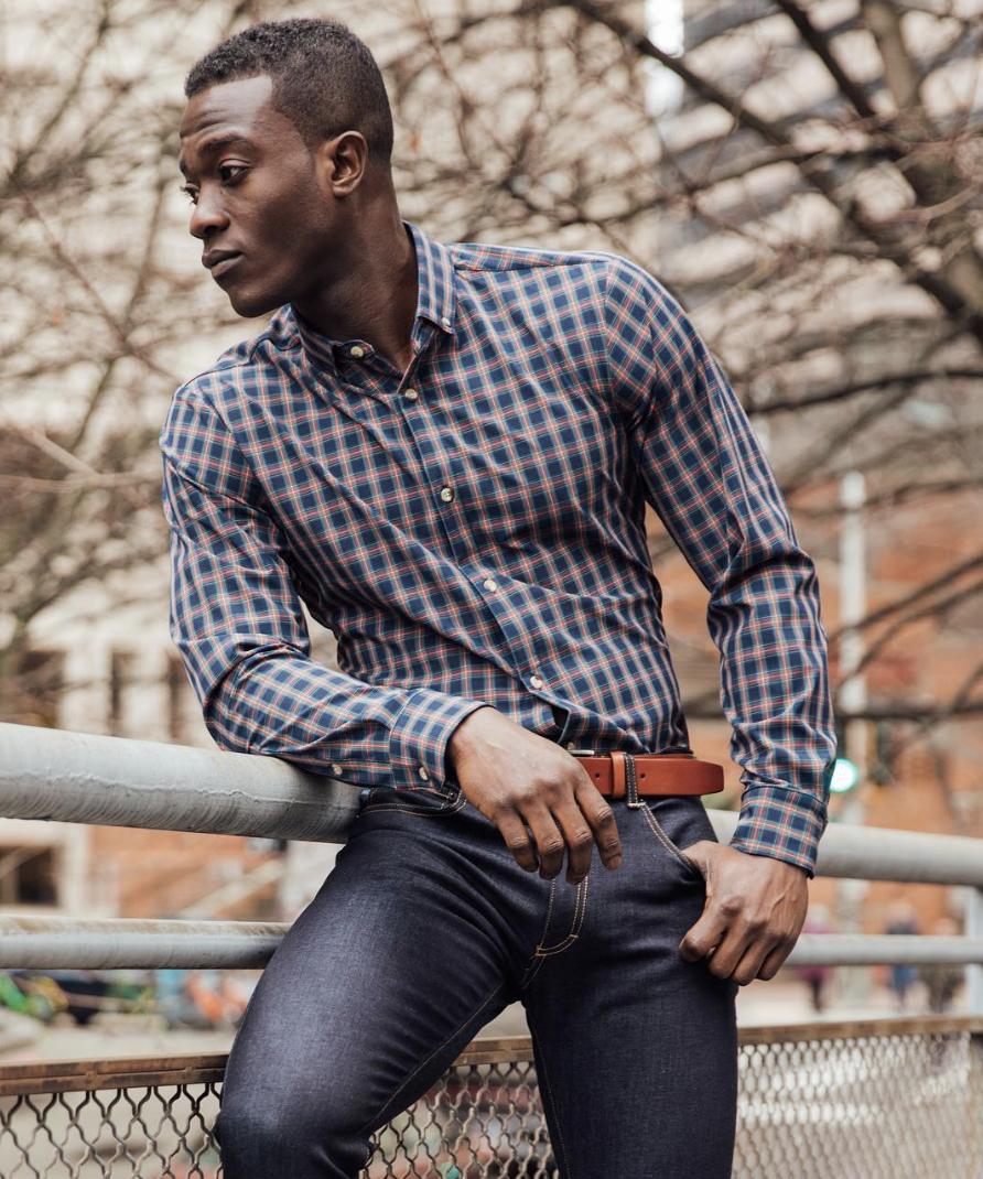 Mizzen+Main Lockhart ($125) - Plaid is the ultimate closet staple thanks to its versatility that will take you from casual Friday to a night out on the town. Mizzen+Main's trademark wrinkle-free, moisture-wicking material ensures that this shirt stays looking fresh no matter what you throw at it.