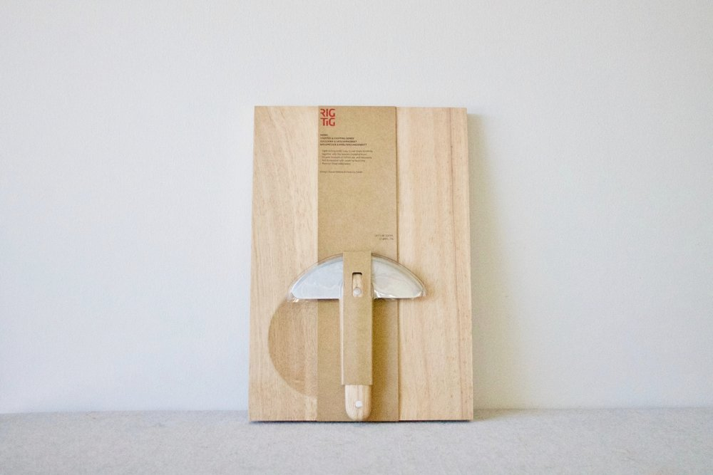 Set & Co Herbs Chopper and Board Set ($56) - Minimize time spent at the chopping block with this board set. The blade of the chopper fits perfectly in the hollow in the chopping board, and the ideal cutting surface keeps what is being cut on the board.