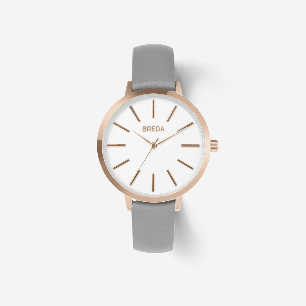 Breda Joule ($80) - With a phone in every purse and pocket, the wristwatch has been rendered unnecessary, but wearing one has never been more fashionable. Breda makes affordable mid-century modern watches right here in Dallas. The Joule lets people know that you mean business — and are always on time.