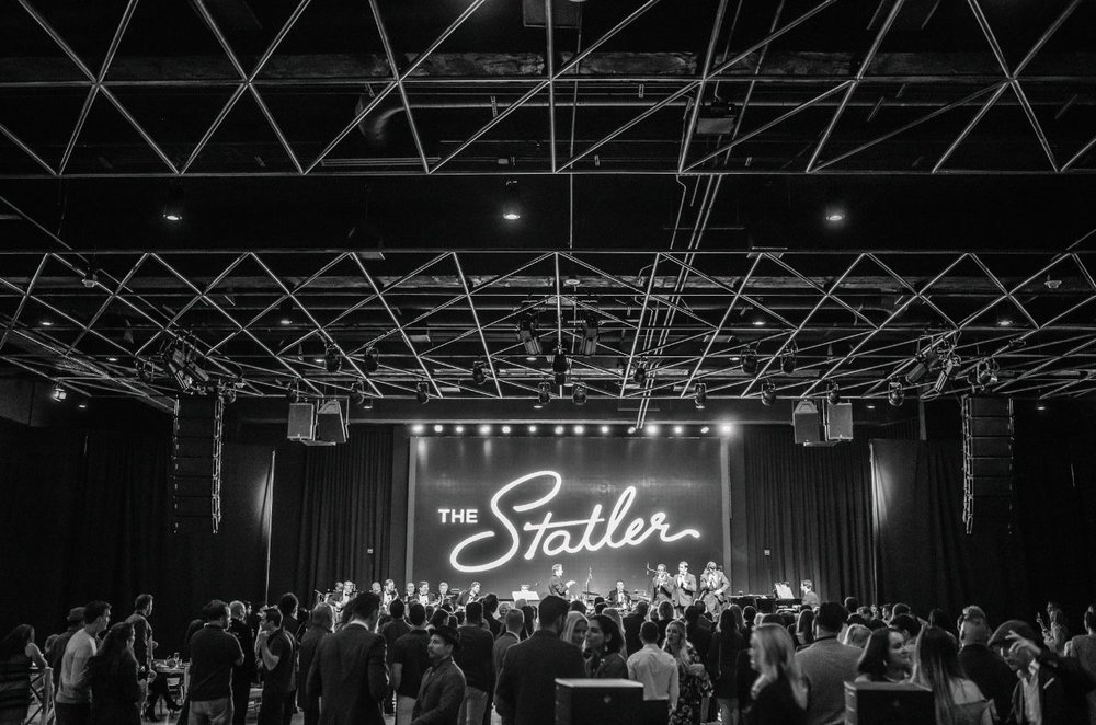 Black and White New Year's Eve Party | The Statler -