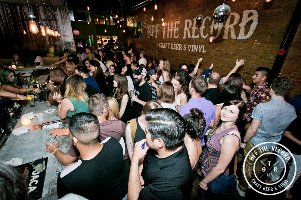 Off the Record |2716 Elm St. - Imagine that Club Dada and Good Records had a baby and you have Off the Record. With 24 beers on tap, over 2,000 records curated by Good Records and DJs spinning almost daily, you're bound to find something you love.