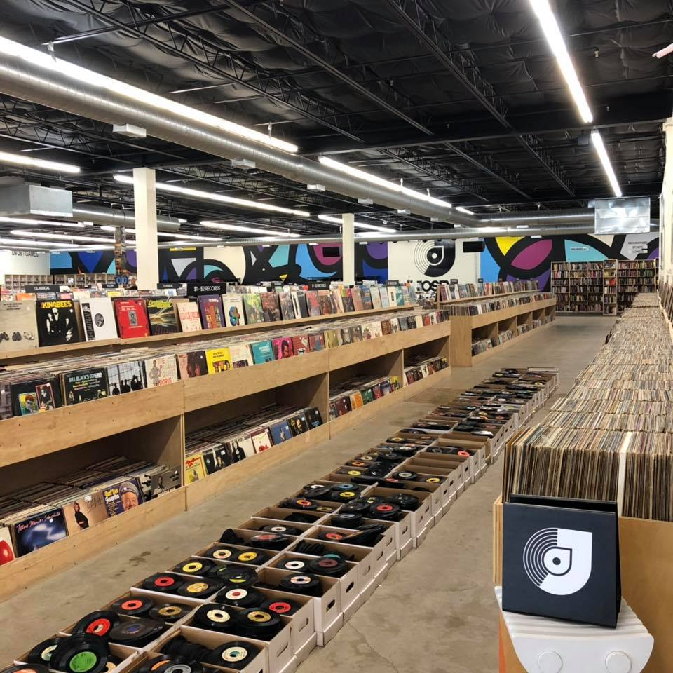 Josey Records |2821 Lyndon B Johnson Freeway - The enormous 15,500 square foot warehouse is home to just about any new and used title you could imagine. And those in the market for a new turntable are in luck — there are plenty to choose from, along with two live-performance areas and a live DJ booth.