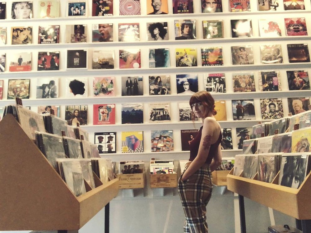 Spinster Records |829 W. Davis St. - This Oak Cliff shop specializes in new and used vinyl, turntables, and music-inspired apparel and jewelry, so you can build your music collection *and* your closet.