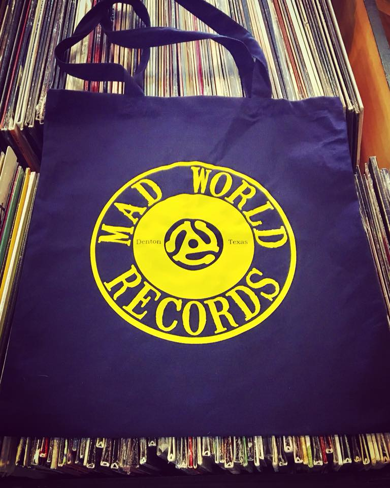 Mad World Records |115 W. Hickory St., Denton - Head to Denton Square, grab a coffee and browse their selection of new and previously owned vinyl, CDs, cassettes, and more. And don't forget to browse their collection of vintage t-shirts in the back of the store — there are some seriously good finds.