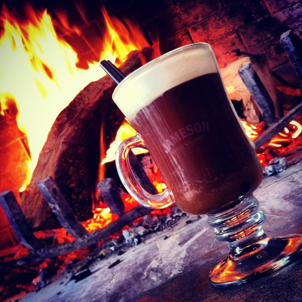 Dubliner | 2818 Greenville Ave. - If the expansive scotch and whiskey lists aren't enough to keep you warm at this traditional Irish pub on Lower Greenville, then a spot near the fireplace will definitely do the trick.