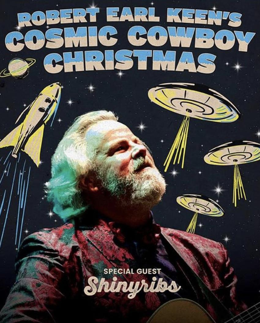 Robert Earl Keen's Cosmic Cowboy Christmas - Friday, December 28 | House of Blues