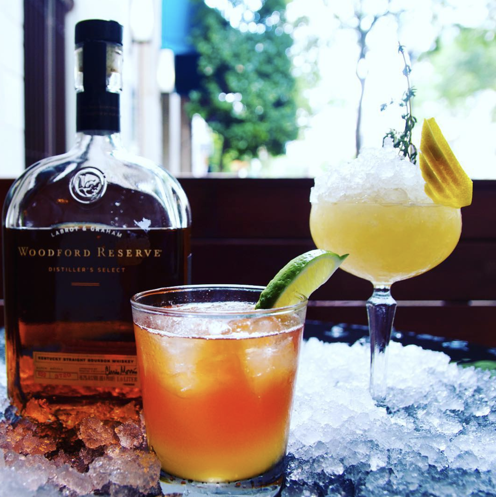 Parliament | 2418 Allen St. - This binder, er, menu has something for every whiskey aficionado. But if you'd like to opt for something classic, the Old Fashioned made with Henderson Small Batch American Whiskey is an excellent choice.