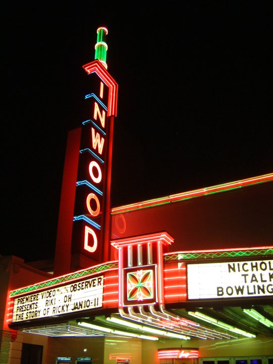 """Inwood Theatre - The Inwood Theatre is one of the coziest spots in town to catch a movie. They mostly show bigger-name blockbusters these days, but it's a fantastic place to see them. Downstairs, they only have one theater, but instead of traditional seats, they have an array of couches, gigantic beanbags and large, comfy chairs. Upstairs, they have two smaller theaters with massive, comfortable seats with plenty of legroom. Every Friday and Saturday, they'll host midnight screenings of cult classics and old favorites. For instance, on February 8 & 9, they'll be showing Hitchcock's """"Vertigo."""" They also have a fantastic bar that's known for their martinis. Yes, you can bring them into the theater."""