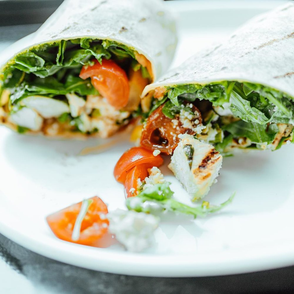 Unleavened   Multiple locations - With four locations around DFW, this fast-casual spot makes it easy to start the day off right. Order breakfast hash (the vegetarian Market Fresh is a must) and grab a wrap for lunch later.