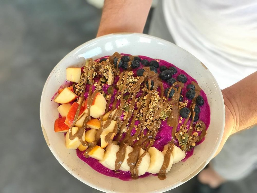 Tribal All Day Cafe   263 N. Bishop Ave. - Chances are, you've probably already seen this gorgeous cafe on your Instagram feed. Serving up breakfast, salads, sandwiches, wraps and the freshest juice, this Chickasaw-owned Oak Cliff spot has a little bit of something for everyone.