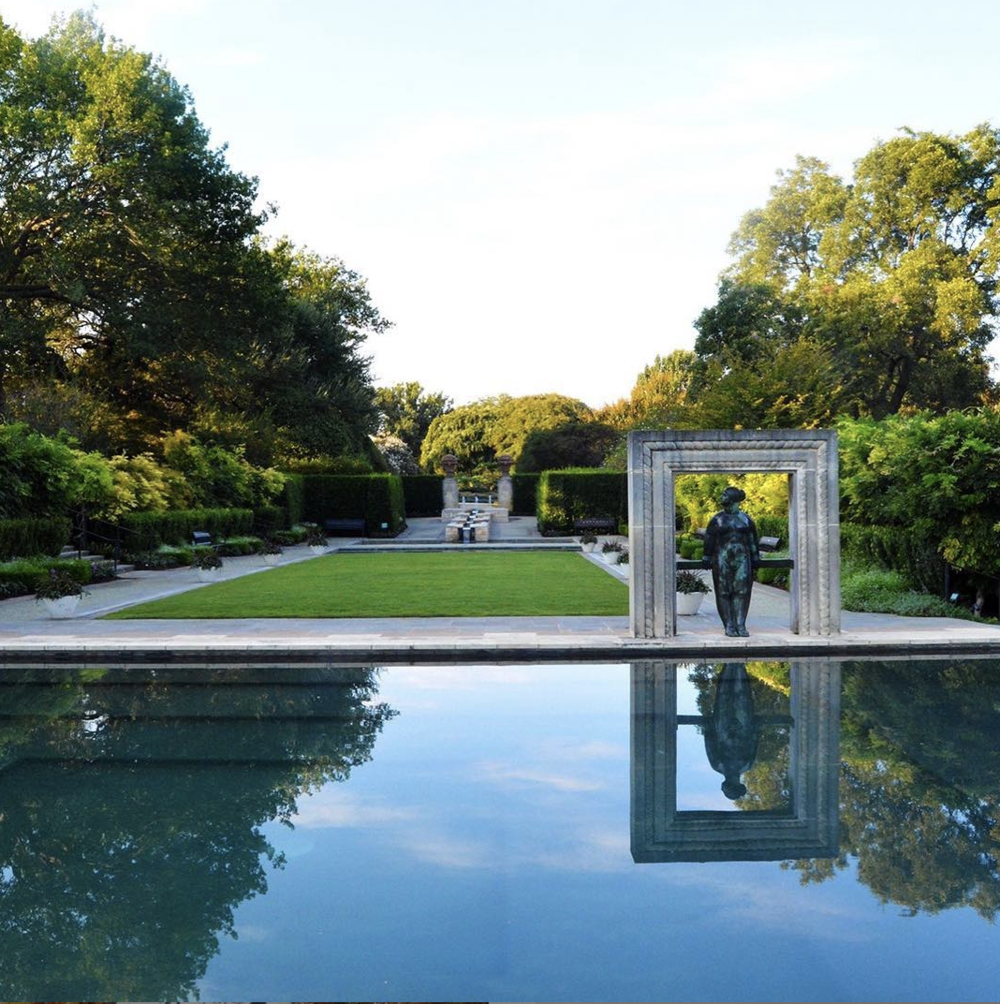 Dallas Arboretum and Botanical Garden |8525 Garland Road - While we love a good mural, there's no prettier photo setting than Mother Nature herself. This 66-acre garden located on the corner of White Rock Lake makes for a perfect photo setting for weddings, engagements, and a casual IG snap. (Photo by Dallas Arboretum)
