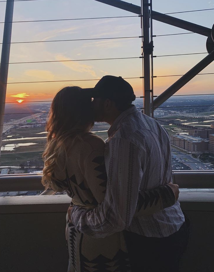Reunion Tower | 300 Reunion Boulevard E - It's not surprising that this place averages about one proposal a day. Between the 360-degree view of the city, fabulous food, and lights galore, there's no filter needed for this sweet 'gram. (Photo by Jada Johnson)