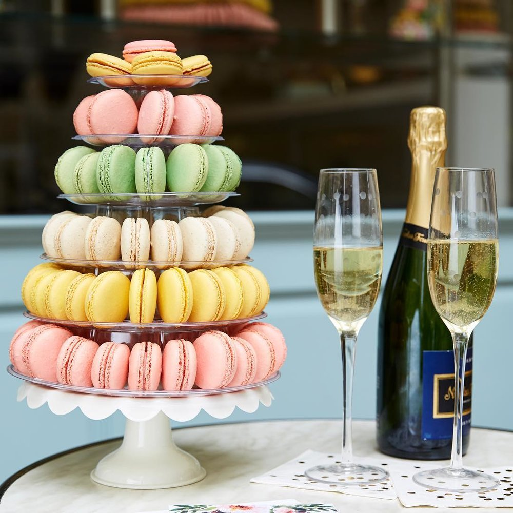 Macaron Tower | Bisous Bisous Pâtisserie - If you feel like mixing things up this Valentine's Day, you'll want to go big. And there's no better way to go big than with a Macaron Tower from Bisous Bisous Pâtisserie. No, you didn't read that wrong; you can get a tower of macarons. Is this overkill for just one person? Maybe, but we're giving you the benefit of the doubt and assuming your Valentine isn't a quitter. Towers start at four tiers and are filled with colorful, delicious macarons. They are a sight to behold, so if you really want to up the wow factor, this is your best bet. (Photo: Bisous Bisous/Facebook)
