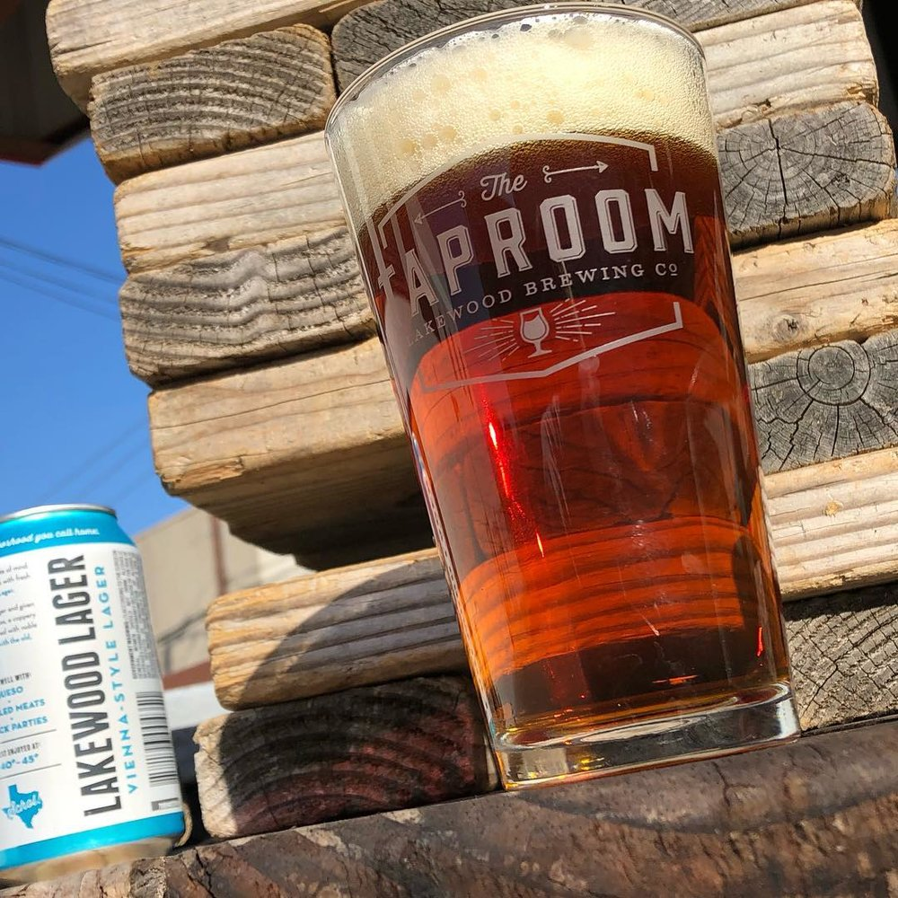 Lakewood Brewing Company - Head to LBC for beer from them and pizza from Little Red Pie Shack. For $15 enjoy 2 beers and a pizza or for $20 get 2 beers, a pizza and dough sticks. What's better than pizza and beer? NOTHING. (Photo by Lakewood Brewing)