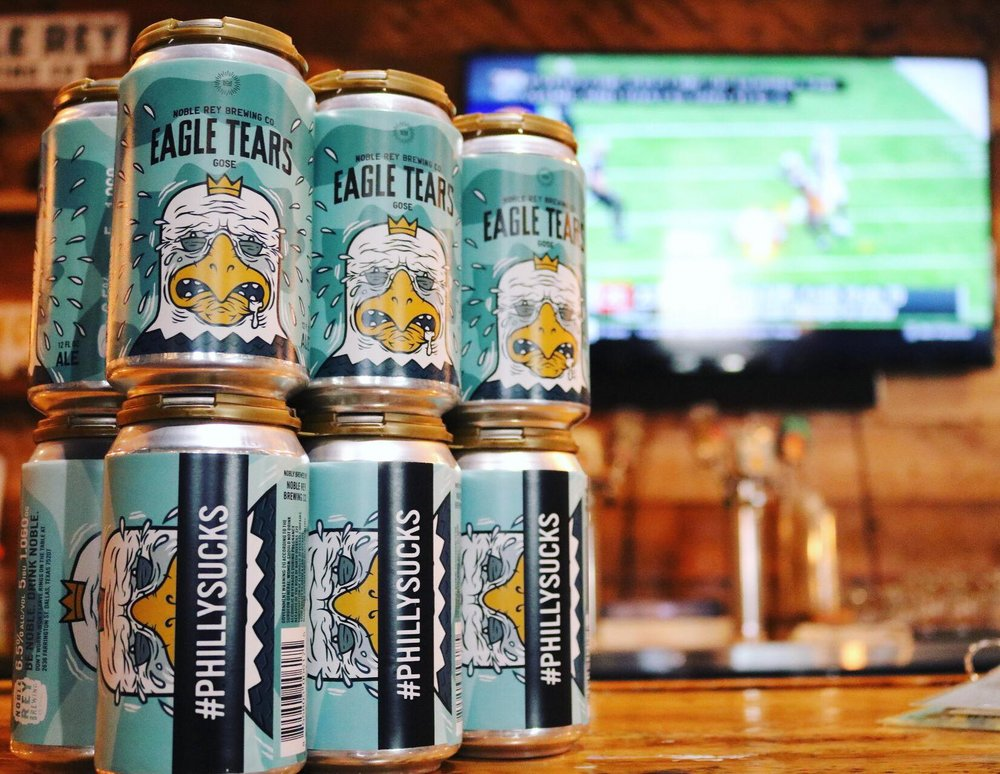 Noble Rey Brewing - Noble Rey is making you feel right at home with a potluck by grilling out hot dogs and encouraging everyone to bring their favorite dish to the brewery. Grab $3 Eagle Tears and Sex in a Canoes plus enter a raffle for 2019 mug club membership. It's the ultimate house party, just at a brewery. (Photo by NRBC)