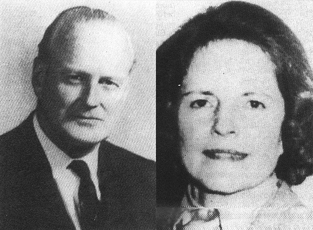 Derek and Nancy Haysom