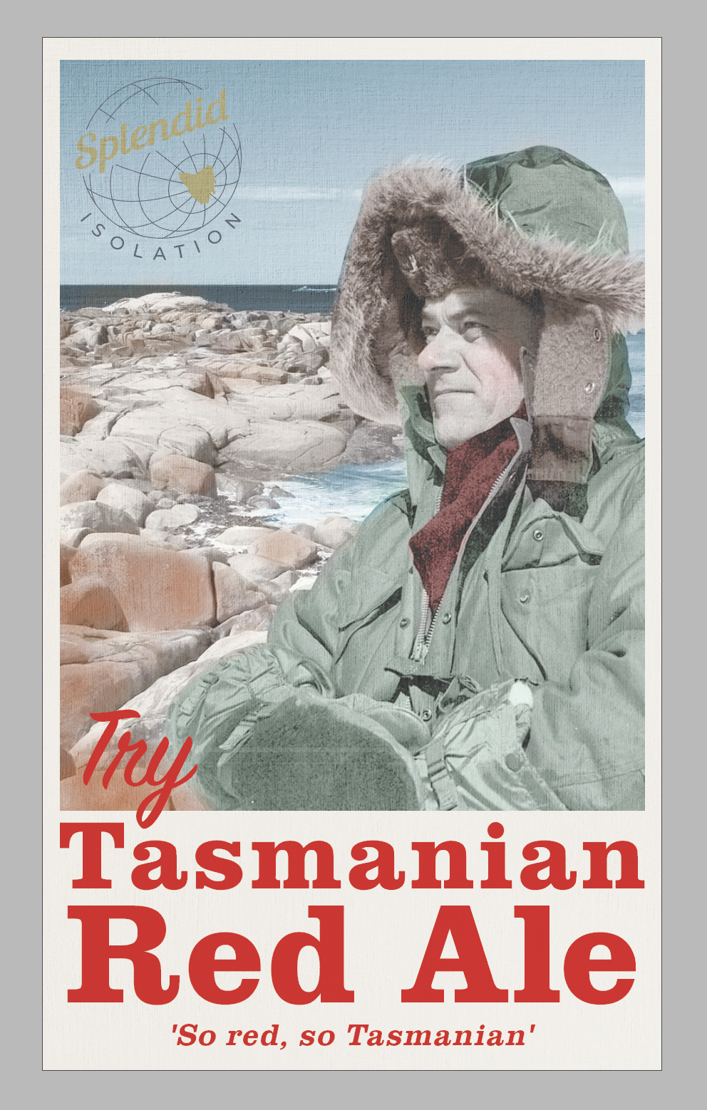 Tasmanian Red Ale — Splendid Isolation, craft beer from Hobart, Tasmanai