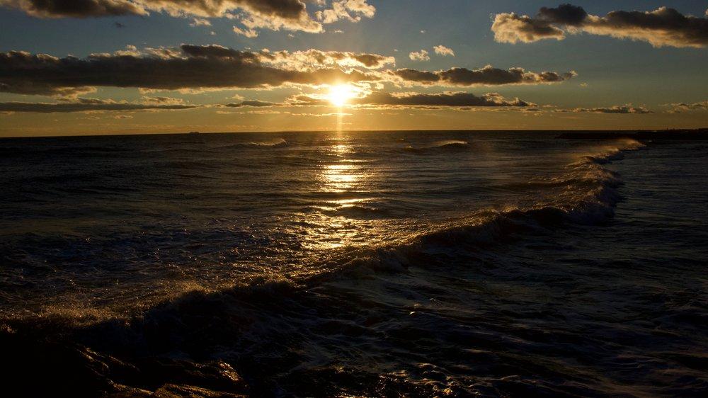 Sunset Tide @ Long Beach