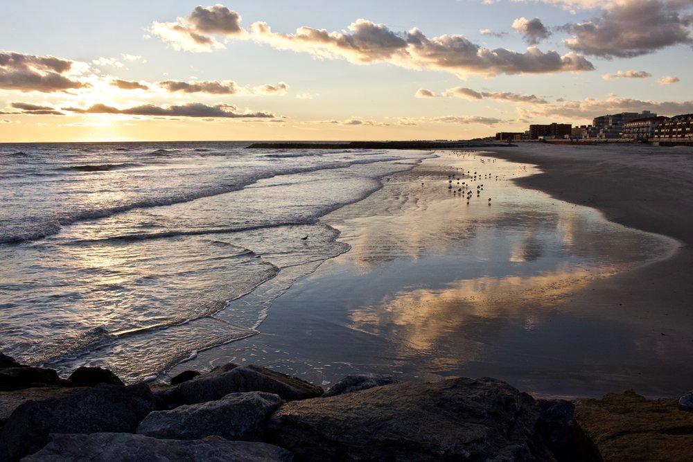 Sunset Reflectons @ Long Beach