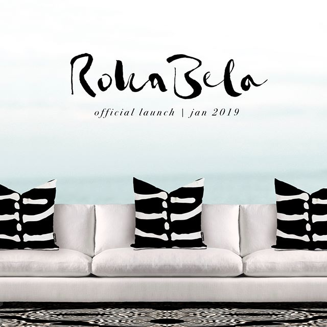 Feeling super happy to say we're closing in on our official launch for Jan 2019. Wishing you all happy hols and can't wait to share the first collection with you all. . . . . @rokabeladesign #interiordesigntrends #animalprints #zebraprint #cushionstyle #interiordecorator #luxuryhomeinteriors #interiordesigntrends2019 #blackandwhiteinterior #newlabels #cabaritabeachnsw #islanddecor #coastaldecor #luxurylifestyles #rokabeladesign #roomhints #beachhome #byronbaydesigner #byronbay #decorationideas #boldinteriors #bohemianluxe