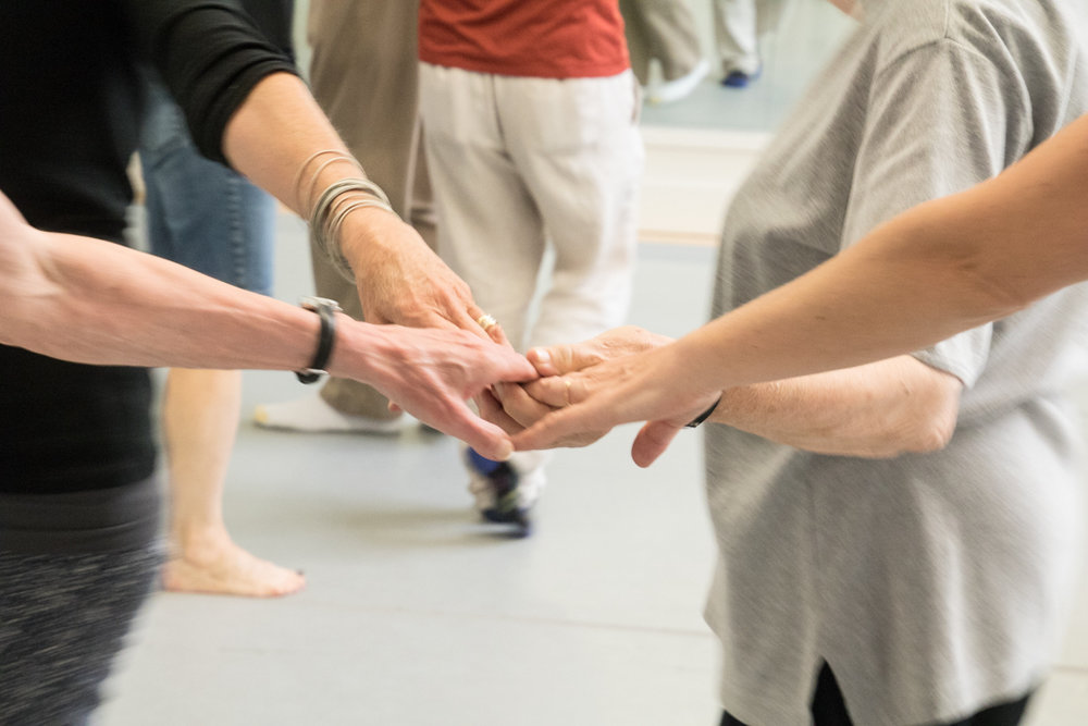 Dance for PD  ®     class  at BBT, photo by Diane Dew