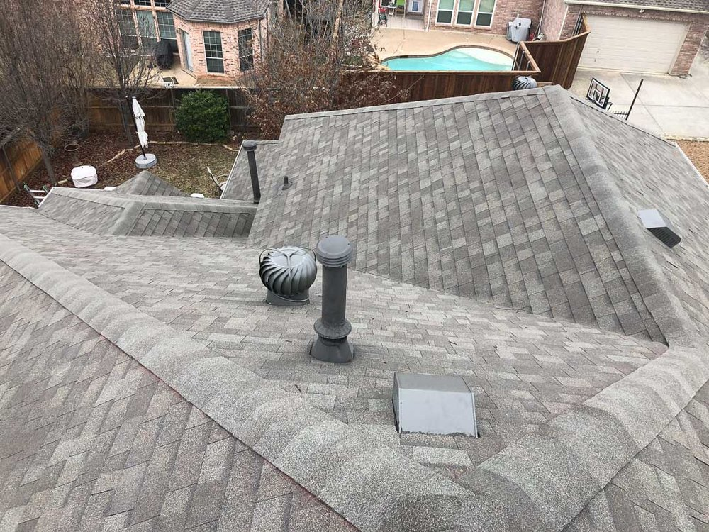 Roof installation in Fort Worth, TX
